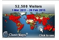 Clustr Map March 1 2016